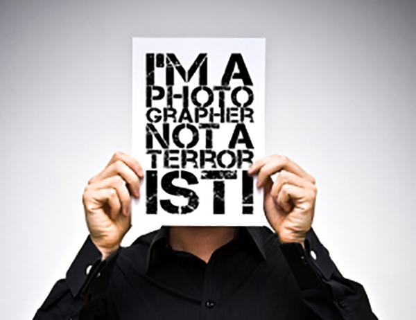Photographer not a terrorist!