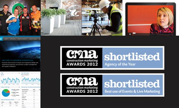 CMA shortlisted 2012