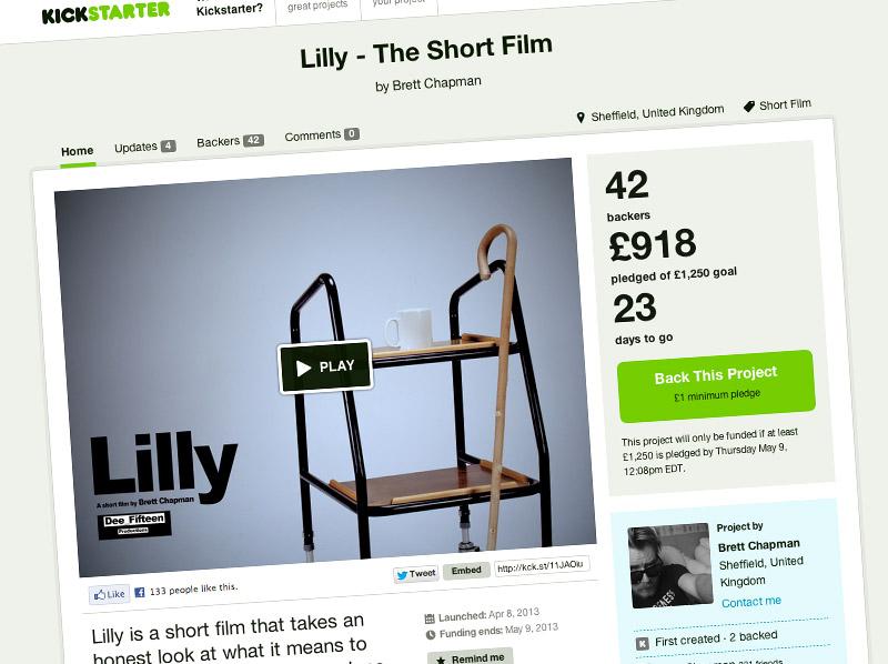 Lilly Kickstarter