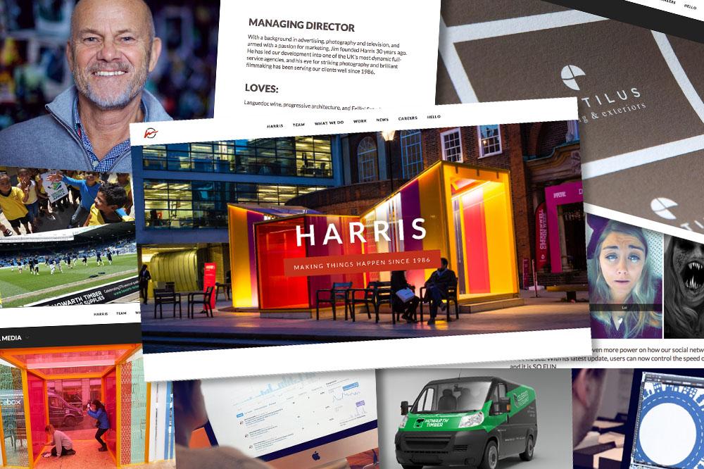 Harris website