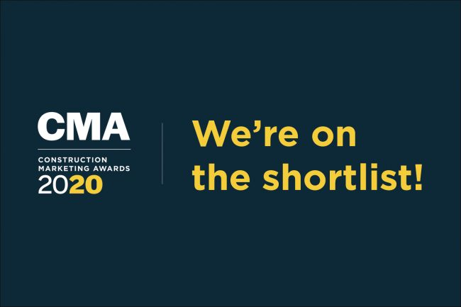 We're on the 2020 CMA shortlist in six categories